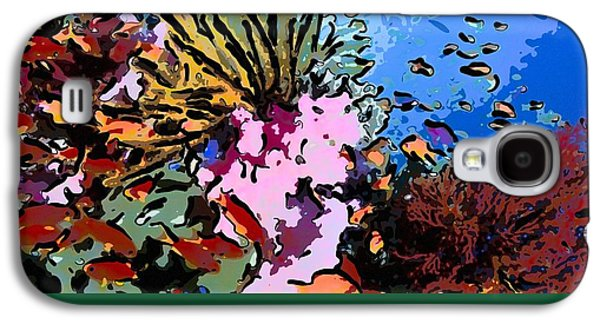 Tropical Coral Reef  2 Galaxy S4 Case by Lanjee Chee