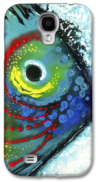 Tropical Fish Galaxy S4 Case by Sharon Cummings