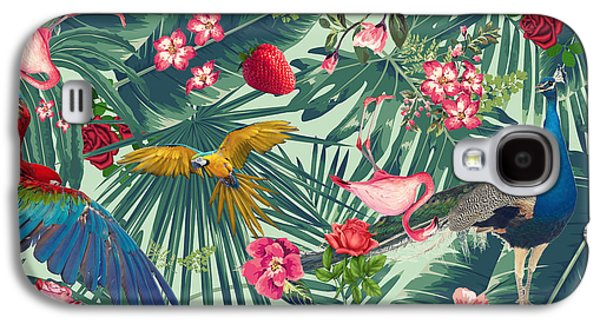 Tropical Fun Time  Galaxy S4 Case