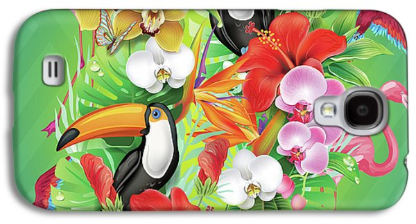 Tropical  Karnaval Galaxy S4 Case
