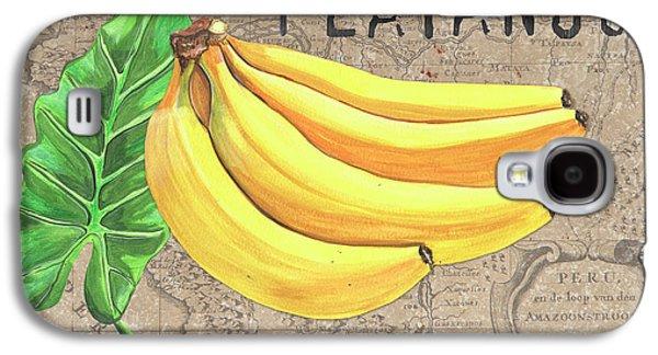 Banana Galaxy S4 Case - Tropical Palms 4 by Debbie DeWitt
