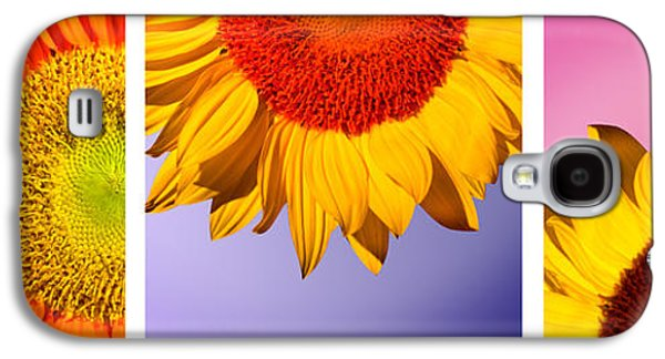 Tropical  Sunflowers Galaxy S4 Case by Mark Ashkenazi