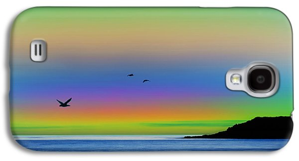Tropical Sunset Galaxy S4 Case by Gregory Murray