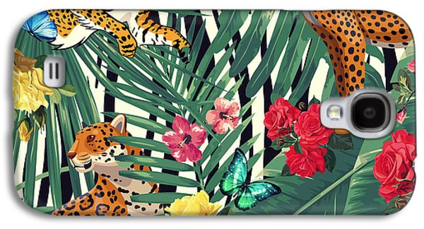 Tropical Wild  Galaxy S4 Case