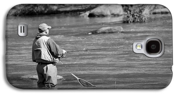 Trout Fishing 1 Galaxy S4 Case by Todd Hostetter