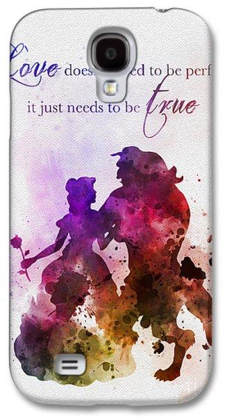 True Love Galaxy S4 Case by Rebecca Jenkins
