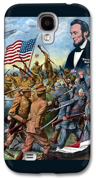 True Sons Of Freedom -- Ww1 Propaganda Galaxy S4 Case by War Is Hell Store