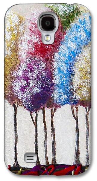 Truffula Forest Galaxy S4 Case by Teresa Wing