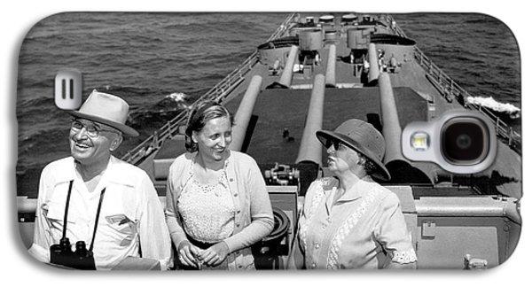 Truman Family At Sea Galaxy S4 Case