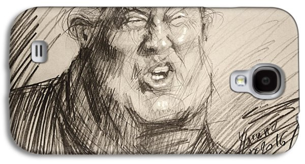 Trump-the Womanizer For President Galaxy S4 Case