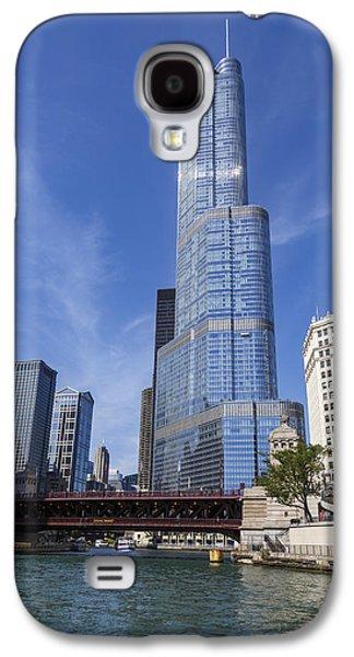 Trump Tower Chicago Galaxy S4 Case by Adam Romanowicz