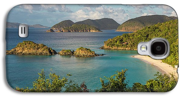 Galaxy S4 Case featuring the photograph Trunk Bay Morning by Adam Romanowicz