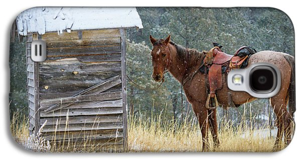 Trusty Horse  Galaxy S4 Case by Inge Johnsson