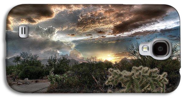 Tucson Mountain Sunset Galaxy S4 Case