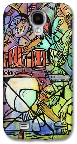 Tuesday Night Blues Jam Galaxy S4 Case by Anthony Falbo