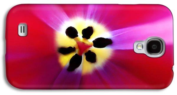 Tulip Vivid Floral Abstract Galaxy S4 Case