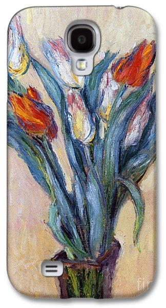Tulips Galaxy S4 Case by Claude Monet