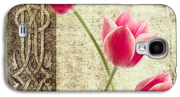 Tulips Vintage  Galaxy S4 Case by Mark Ashkenazi