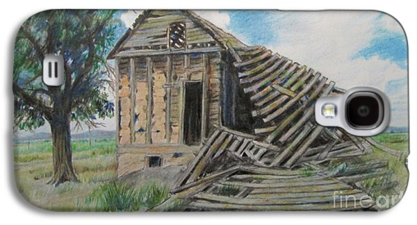 Tumbled Down House Galaxy S4 Case by Jeanette Skeem