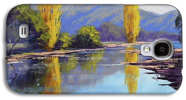 Tumut River Poplars Galaxy S4 Case