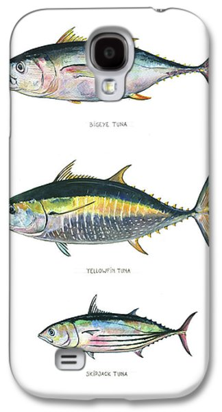 Tuna Fishes Galaxy S4 Case