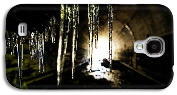 Dungeon Galaxy S4 Case - Tunnel Icicles by Pelo Blanco Photo