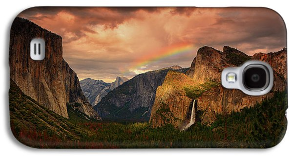 Tunnel View Rainbow Galaxy S4 Case
