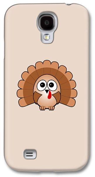 Turkey - Birds - Art For Kids Galaxy S4 Case by Anastasiya Malakhova