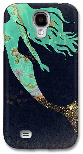 Turquoise Mermaid Galaxy S4 Case
