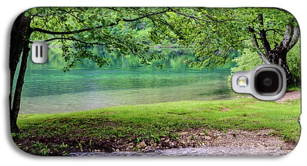 Turquoise Zen - Plitvice Lakes National Park, Croatia Galaxy S4 Case