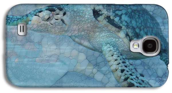 Turtle - Beneath The Waves Series Galaxy S4 Case by Jack Zulli