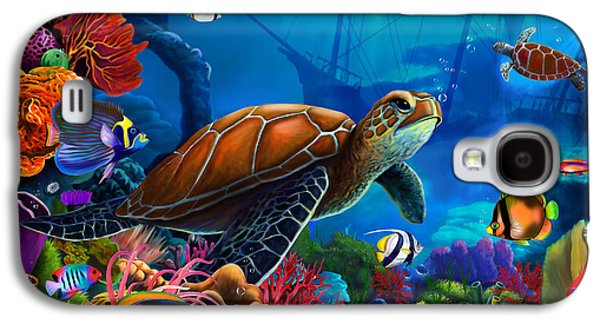 Turtle Domain Galaxy S4 Case