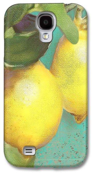 Tuscan Lemon Tree - Citrus Limonum Damask Galaxy S4 Case by Audrey Jeanne Roberts