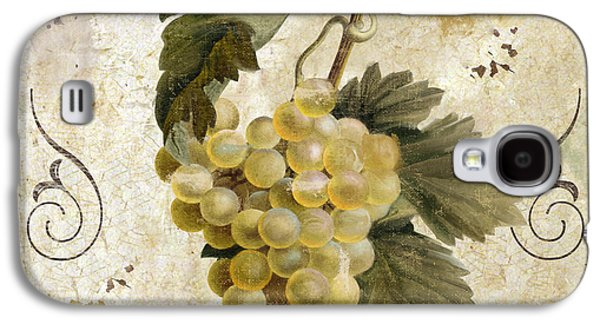Tuscan Table Blanc Wine Galaxy S4 Case by Mindy Sommers