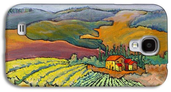 Tuscan Vineyard Galaxy S4 Case by Mohamed Hirji