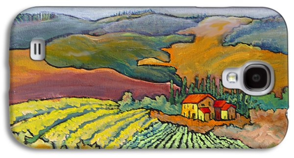 Tuscan Vineyard Galaxy S4 Case by Mohamed Hirji