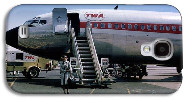 Twa Boeing 707, August 1965 Galaxy S4 Case by Wernher Krutein