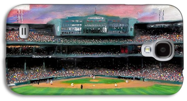 Sports Galaxy S4 Case - Twilight At Fenway Park by Jack Skinner