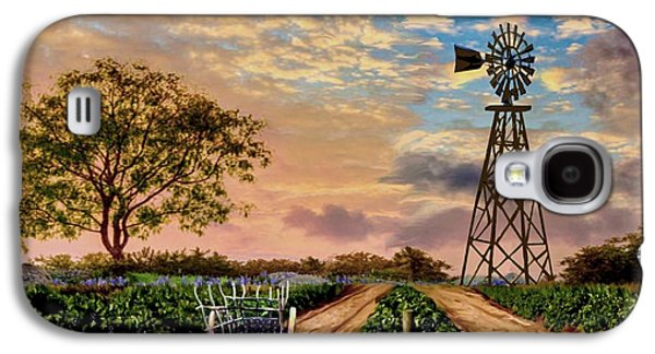 Twilight At The Vineyard Galaxy S4 Case