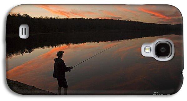 Twilight Fishing Delight Galaxy S4 Case