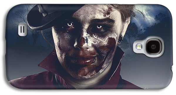 Twilight Nightmare. Possessed Halloween Girl Galaxy S4 Case by Jorgo Photography - Wall Art Gallery