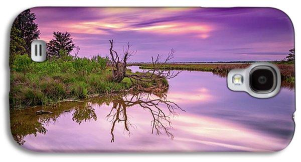 Twilight On Assateague Island Galaxy S4 Case by Rick Berk