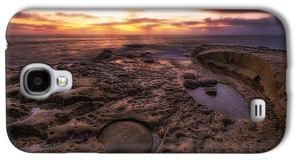 Twilight On The Pacific - California Coast Galaxy S4 Case