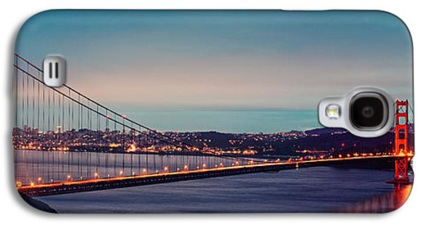 Twilight Panorama Of The Golden Gate Bridge From The Marin Headlands - San Francisco California Galaxy S4 Case