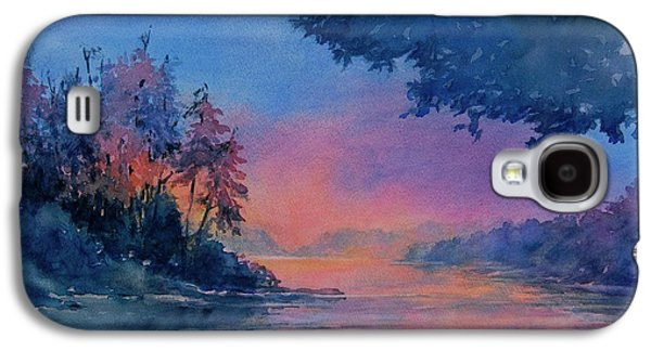 Twilight Time No 4 Eagle Lake Galaxy S4 Case by Virgil Carter