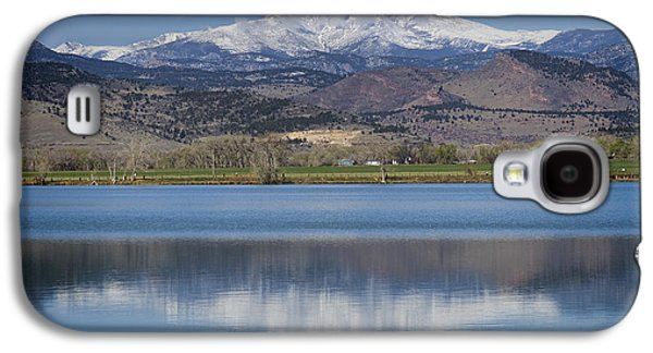 Twin Peaks Mccall Reservoir Reflection Galaxy S4 Case by James BO  Insogna
