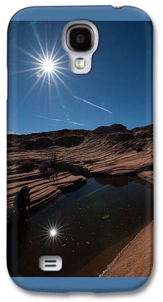 Twin Stars Reflection Galaxy S4 Case