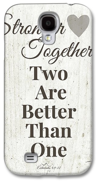Two Are Better Than One- Art By Linda Woods Galaxy S4 Case by Linda Woods