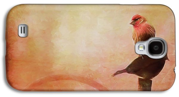Two Birds In The Mist Galaxy S4 Case by Bellesouth Studio