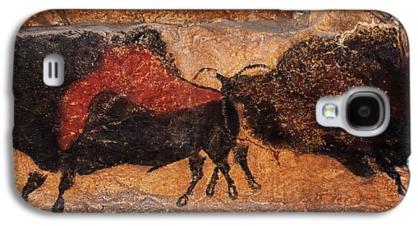 Two Bisons Running Galaxy S4 Case